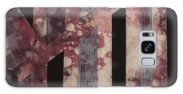 Abstract Design Galaxy Case by Carolyn Repka