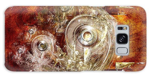 Abstract Discs Galaxy Case by Alexa Szlavics