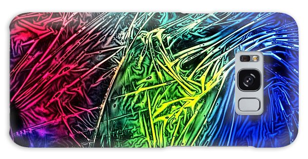 Abstract Experimental Chemiluminescent Photography Galaxy Case by David Mckinney