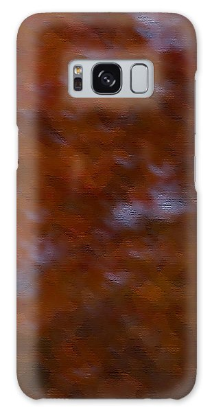 Abstract Fall Colors Galaxy Case