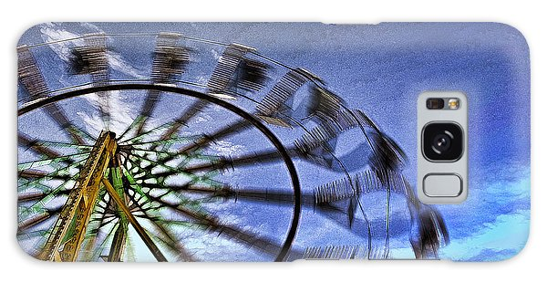 Abstract Ferris Wheel Galaxy Case by Linda Blair