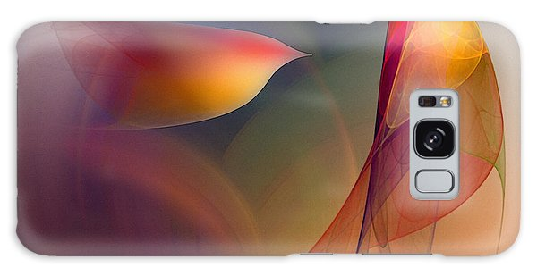 Abstract Fine Art Print Early In The Morning Galaxy Case