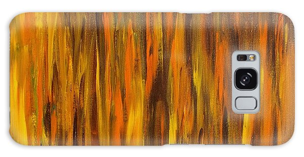 Abstract Fireside Galaxy Case by Susan  Dimitrakopoulos