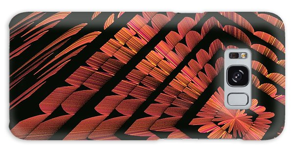 Abstract Floral Galaxy Case by Linda Whiteside