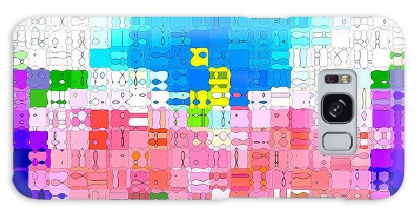 Abstract Flower Garden Galaxy Case by Anita Lewis