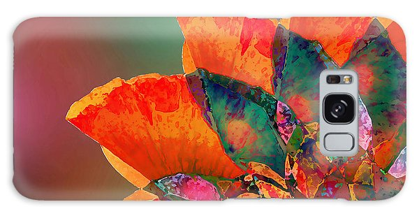 Abstract Flower Galaxy Case by Klara Acel