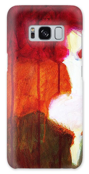 Abstract Ghost Figure No. 2 Galaxy Case