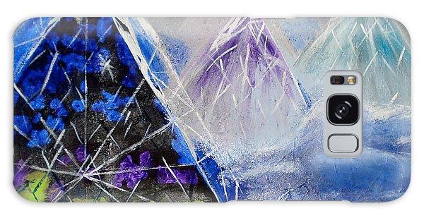 Abstract Glass Mountain Galaxy Case
