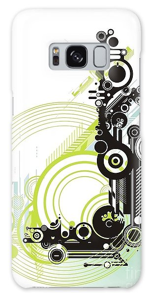 Motor Galaxy Case - Abstract  Grunge & Tech Background by Gudron