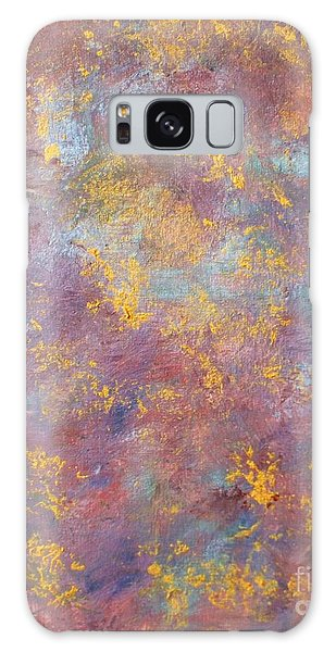 Abstract Impressions Galaxy Case by Donna Dixon