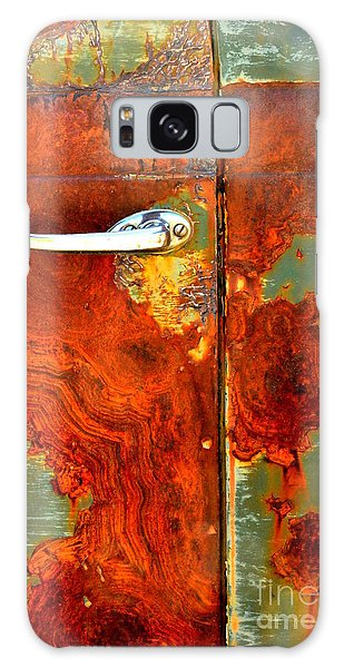 Abstract In Rust 24 Galaxy Case by Newel Hunter