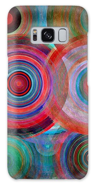Abstract In Silk  Galaxy Case