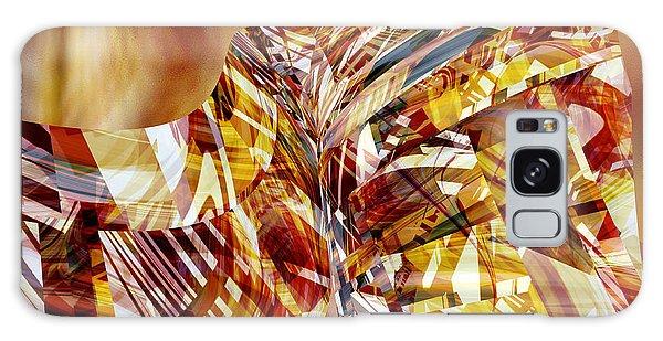 Kimono Silk -  Abstract Art Galaxy Case by rd Erickson