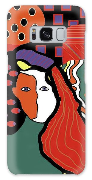 Abstract Lady Galaxy Case by Vickie G Buccini