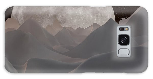 Abstract Landscape #3 Galaxy Case by Wally Hampton