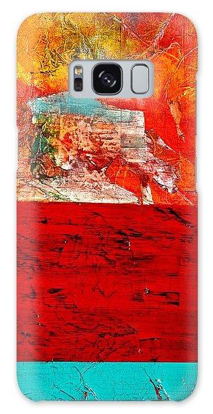 Abstract Landscape I Galaxy Case by Carolyn Repka