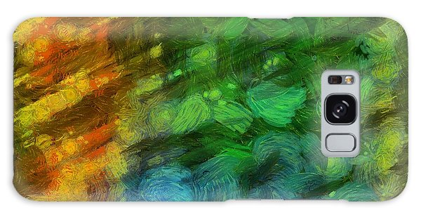 Aspect Galaxy Case - Abstract Lines 10 by Edward Fielding