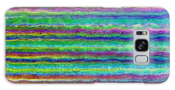 Aspect Galaxy Case - Abstract Lines 8 by Edward Fielding