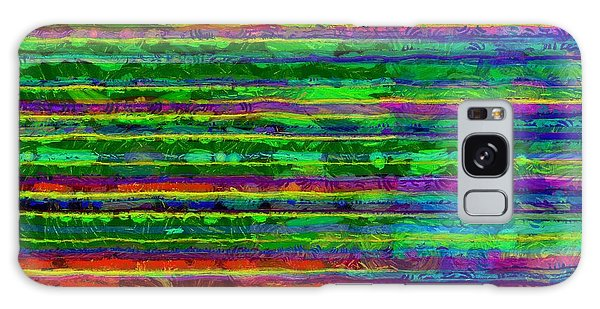Aspect Galaxy Case - Abstract Lines 9 by Edward Fielding