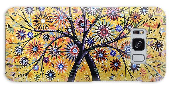 Abstract Modern Flowers Garden Art ... Flowering Tree Galaxy Case