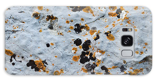 Abstract Orange Lichen 1 Galaxy Case by Chase Taylor