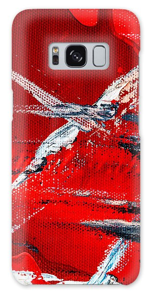 Abstract Original Artwork One Hundred Phoenixes Untitled Number Seven Galaxy Case