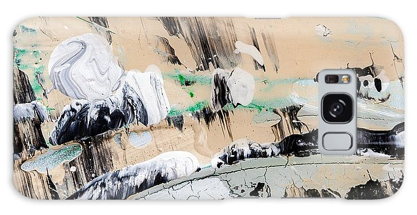 Abstract Original Painting Number Seven  Galaxy Case