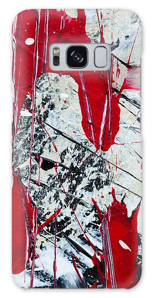 Abstract Original Painting Untitled Nine Galaxy Case