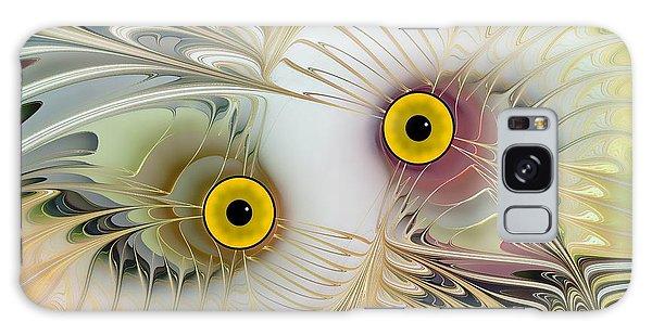 Abstract Owl Galaxy Case by Klara Acel