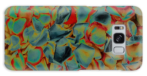 Galaxy Case featuring the photograph Abstract Rose Petals by Mae Wertz