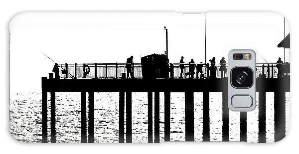 Abstract Pier Galaxy Case by David Warrington