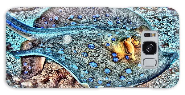 Reef Diving Galaxy Case - Abstract Reef Ray by Roy Pedersen