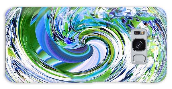 Abstract Reflections Digital Art #3 Galaxy Case