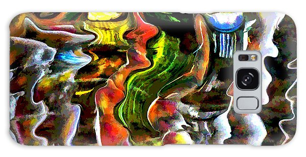 Abstract Reflections Galaxy Case by Vladimir Kholostykh