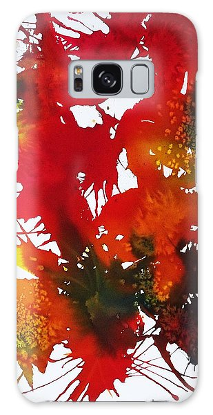 Abstract - Riot Of Fall Color II - Autumn Galaxy Case by Ellen Levinson