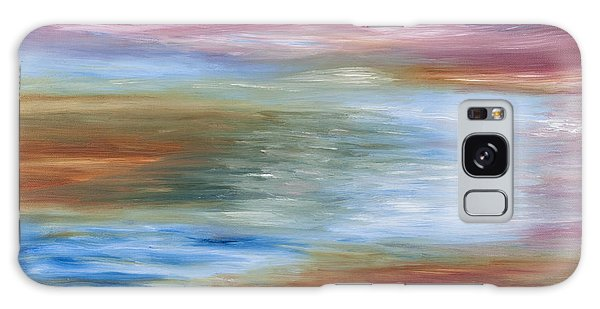 Abstract Seascape Galaxy Case by Lana Enderle