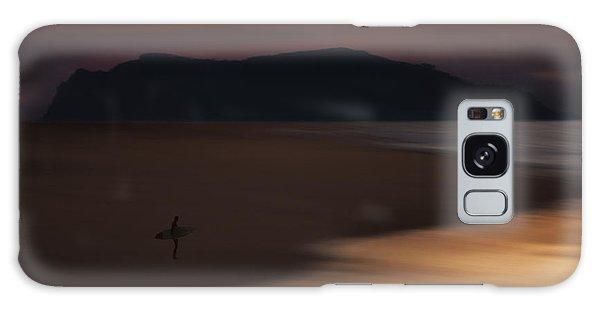 Abstract Shoreline 73a0160 Galaxy Case