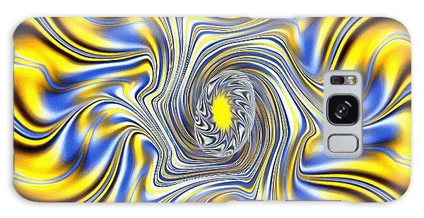Abstract Spun Flower Galaxy Case
