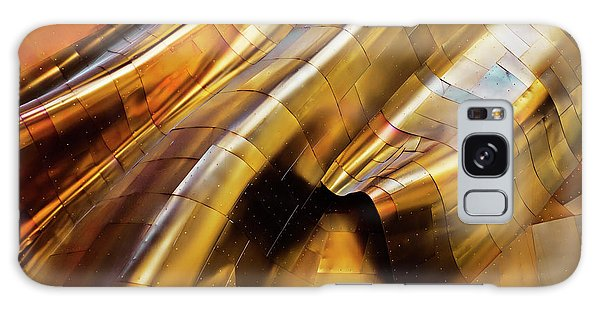 Gehry Galaxy Case - Abstract Steel by S. Amer