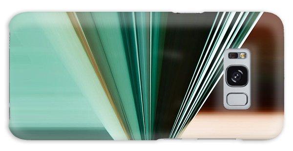 Abstract - Teal - Aqua - Five Galaxy Case