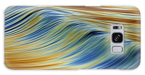 Abstract Wave C6j7857 Galaxy Case by David Orias