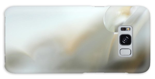 Abstract White Germini Galaxy Case by Eden Baed