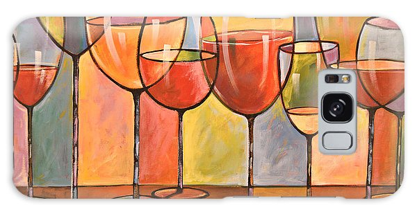 Abstract Wine Art ... Whites And Reds Galaxy Case