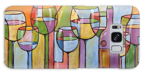 Abstract Wine Dining Room Bar Kitchen Art ... Time To Relax Galaxy Case
