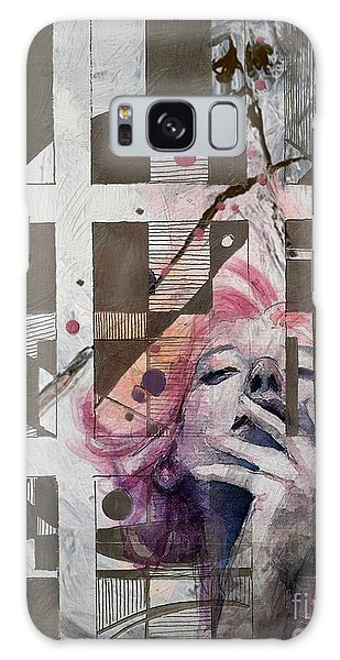 Abstract Women 01 Galaxy Case
