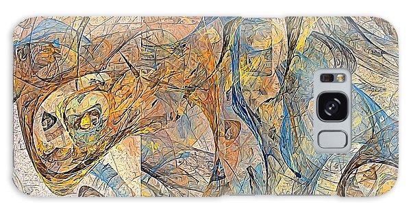 Abstraction 0499 Marucii Galaxy Case