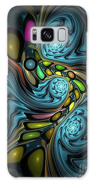 Abstraction 254-06-13 Marucii Galaxy Case
