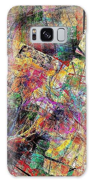 Abstraction 442-09-13 Marucii Galaxy Case