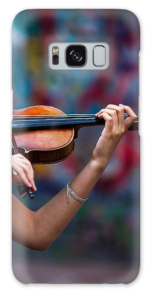 Violin Galaxy Case - Abstracts From Vivaldi - Featured 3 by Alexander Senin