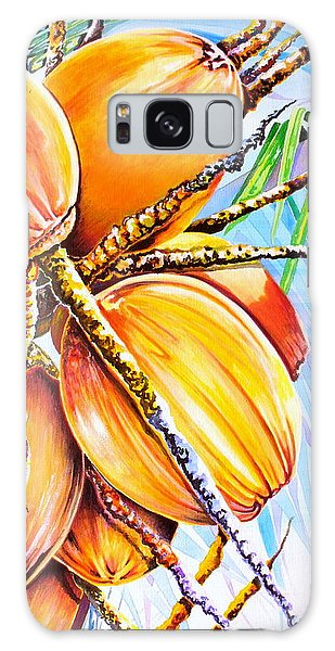 Abundance Galaxy Case by Julie  Hoyle